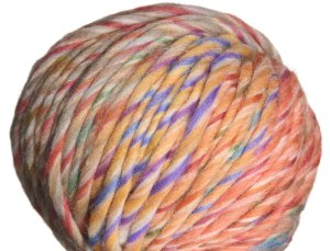 Lana Grossa Colore Yarn - 01 Orange/Blue/Yellow