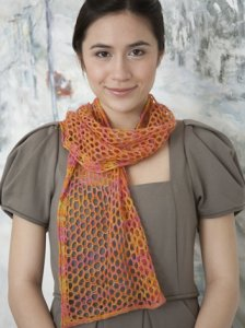 Classic Elite Silky Alpaca Lace Lightweight Scarf Kit - Scarf and Shawls