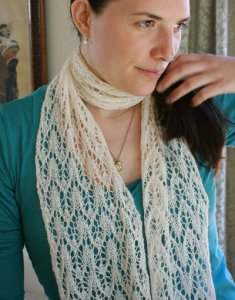 Classic Elite Silky Alpaca Lace Chevron Scarf Kit - Scarf and Shawls