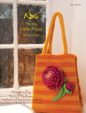 Noni Patterns - Peony Little Purse in Crochet Pattern
