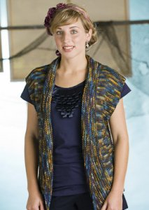 Manos del Uruguay Silk Blend Multis Astrolabe Vest Kit - Vests