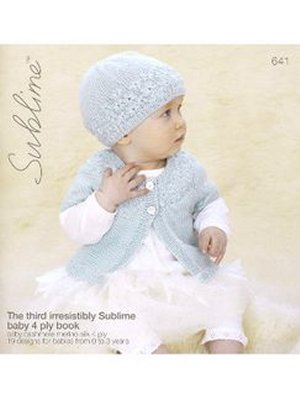 Sublime Books - 641 - The Third Irresistibly Sublime Baby 4 Ply Book (Discontinued)