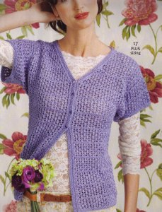Lorna's Laces Pearl Mesh Cardigan Kit - Women's Cardigans