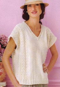 Spud and Chloe Sweater Cabled Top Kit - Women's Pullovers