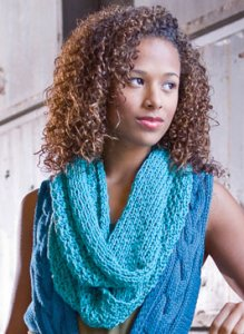 Berroco Weekend Chunky Cowl Kit - Scarf and Shawls