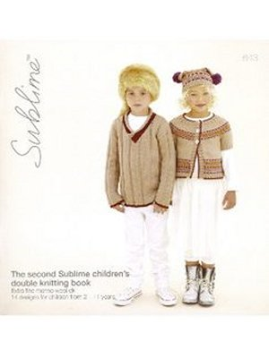 Sublime Books - 643 - The Second Sublime Children's Double Knitting Book