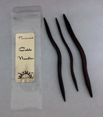 Bryspun Rosewood Cable Needles