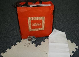 Cocoknits Knitter's Block Kit - Knitter's Block Kit - Orange Bag (Discontinued)