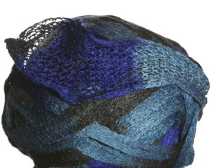 Knitting Fever Flounce Yarn - 13 Royal, Grey, Light Blue (Discontinued)