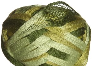 Knitting Fever Flounce Yarn - 16 Lime, Green (Discontinued)