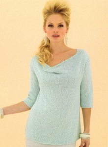 Sublime Tussah Silk DK Imogen Pullover Kit - Women's Pullovers