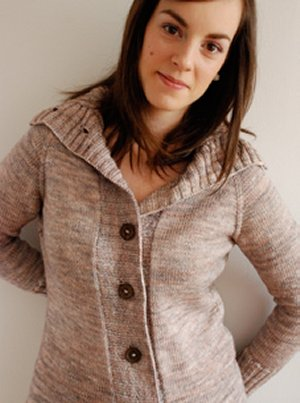 Knitbot Patterns - Calligraphy Cardigan