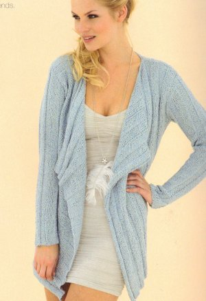 Sublime Tussah Silk DK Francesca Cardi Kit - Women's Cardigans