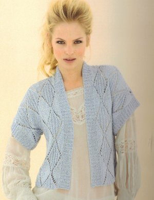 Sublime Tussah Silk DK Nancy Cardigan Kit - Women's Cardigans