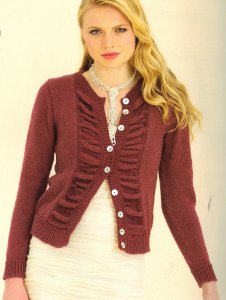 Sublime Cashmere Merino Silk DK Dominique Cardigan Kit - Women's Cardigans