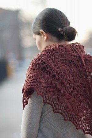 Brooklyn Tweed Patterns - Juneberry Triangle Pattern