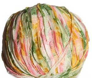 Laines du Nord Zahir Yarn - 4010 Green, Yellow, Pink
