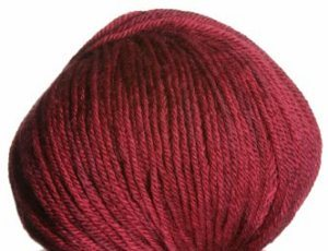 Queensland Collection Rustic Wool DK Yarn - 221 Cranberry