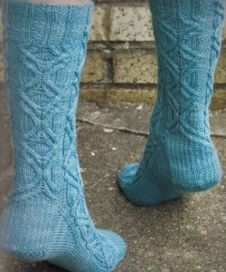 Lorna's Laces Shepherd Sock Stalagmite  Kit - Socks