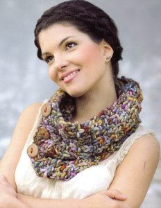 Malabrigo Rasta Neckwarmer Kit - Scarf and Shawls