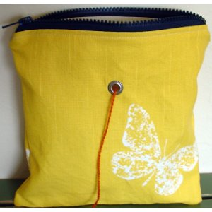 Top Shelf Totes Yarn Pop - Single - zButterflies - Large