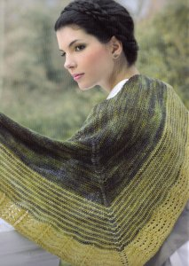 Malabrigo Sock Scalloped Shawl Kit - Scarf and Shawls