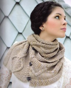 Malabrigo Twist Twisted Cowl Kit - Scarf and Shawls