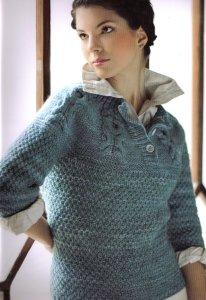 Malabrigo Twist OXO Cable Pullover Kit - Women's Pullovers