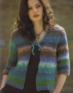 Noro Silk Garden Sea Breeze Kit - Women's Cardigans
