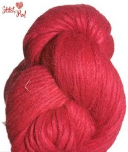 Blue Sky Alpacas Techno Yarn - 1976 Cha-Cha Red (Stitch Red) (Discontinued)