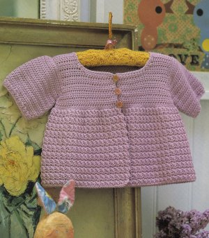 Debbie Bliss Baby Cashmerino Maisie Cardigan Kit - Crochet for Kids