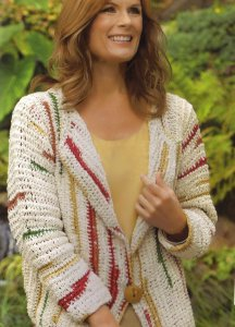 Trendsetter Free Spirit Cardigan Kit - Crochet for Adults