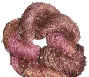 Artyarns Beaded Silk Light Yarn - H10 w/Silver