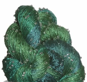 Artyarns Beaded Silk Light Yarn - H13 w/Silver