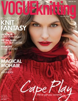 Vogue Knitting International Magazine - '11 Early Fall