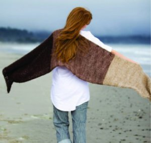 Be Sweet Boucle Mohair Trio Shawl Kit - Scarf and Shawls