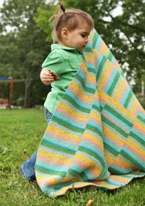 Berroco Sox Vexillo Baby Blanket Kit - Baby and Kids Accessories