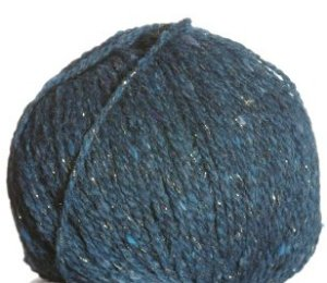 Berroco Blackstone Tweed Metallic Yarn - 4646 Salt Water (Discontinued)