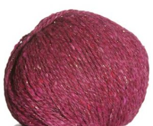 Berroco Blackstone Tweed Metallic Yarn - 4642 Rhubarb