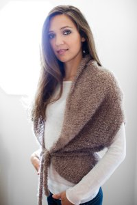 Be Sweet Boucle Mohair Cocoon Wrap Kit - Women's Cardigans