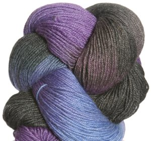 Lorna's Laces Solemate Yarn - Blueberry Snowcone