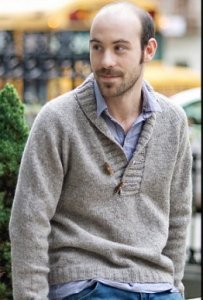 Tahki Stacy Charles Tara Tweed Brownstone Pullover Kit - Mens Sweaters