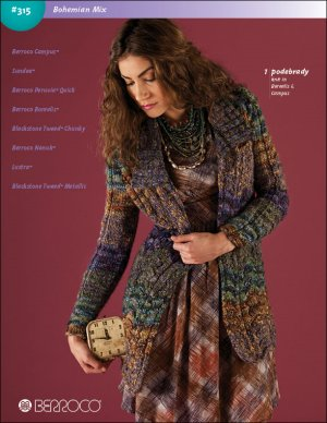 Berroco Pattern Books - 315 - Bohemian Mix