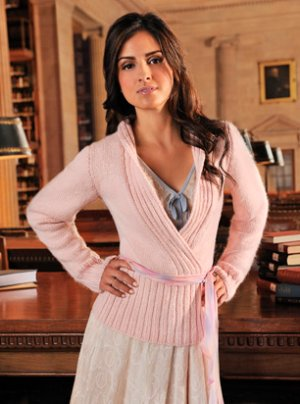 Blue Sky Alpacas Adult Clothing Patterns - zBella Wrap Pullover Pattern