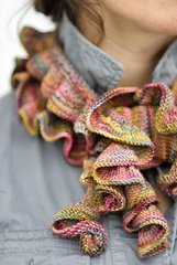 Koigu KPPPM Ruffle Scarf Kit - Scarf and Shawls