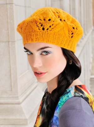 Blue Sky Fibers Adult Clothing Patterns - Cafe Beret Pattern