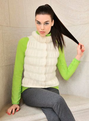 Blue Sky Fibers Adult Clothing Patterns - Apres Vest Pattern