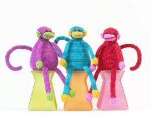 Knitting at Knoon Patterns - Monkey Business Pattern
