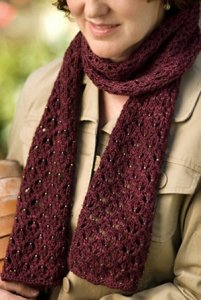 Churchmouse English Mesh Lace Scarf Kit - Scarf and Shawls