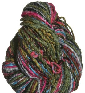 Noro Furisode Yarn - 09 Black, Hot Pink, Orange